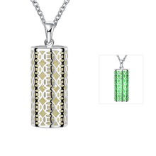 Fluorescent green hollow choker necklaces jewelry wholesale