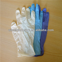 white nitrile examination gloves aql 1.5 disposable