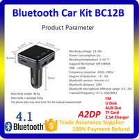 Best Price Bluetooth Handsfree Car Kit MP3 Player Supports Audio Output