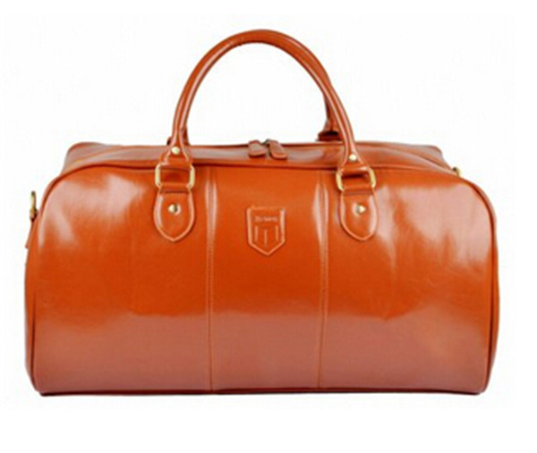 Large Capicity Genuine Leather Duffel Bag OEM Men Real Leather Business Travel Bag
