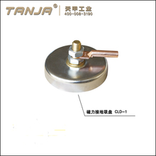 TANJA magnetic earth horizontal toggle clamp welding electrode holder