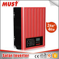 MUST CE RoHS approved 48V 220v inverter solar grid tie inverter charger power inverter3000w 48v inverter with battery