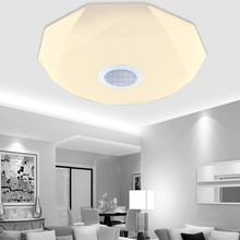 New APP Bluetooth Music LED Ceiling Light Smartphone Dimming Star-jewel Light Fixture LED Modern Lighting TB018
