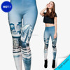 10pcs to buy hot sale New arrival leggings animals kong lion tiger giraffe printed 3d seamless leggings for women fashion wear