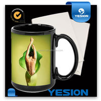 Yesion 2015 Hot Sales! A3 A4 Wholesale Clear and White Inkje Water Slide Decal Transfer Paper For Glass and Mugs