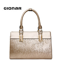 New Model French Embossing Fashion Girls Designer Leather Handbags
