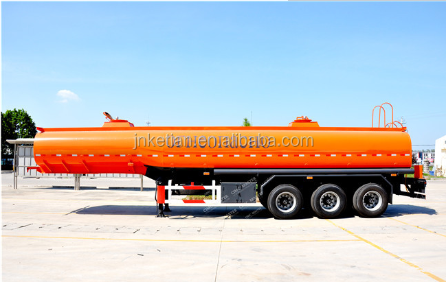 50000 liters Oil tank semi trailer and Fuel tanker