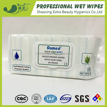 Adult/patient washing cloth with aloe vera