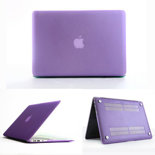 Lavender Hard Matte PC Frosted Laptop Book Case for Macbook Air & Pro
