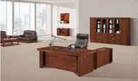 Best selling products in america antique wood office desk furniture factory(FOH-A3718B)