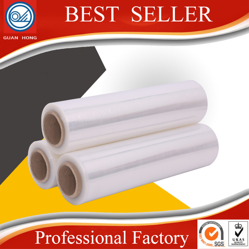High Quality PE Stretch Film Jumbo Roll for Pallet Wrapping Stretch Film China Supplier