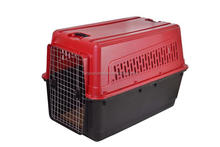 World travel plastic pet cage dog carrier