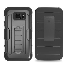 3 in 1 Hybrid Belt Clip Holster Stand Armor Shockproof Case For Samsung Galaxy Note 2