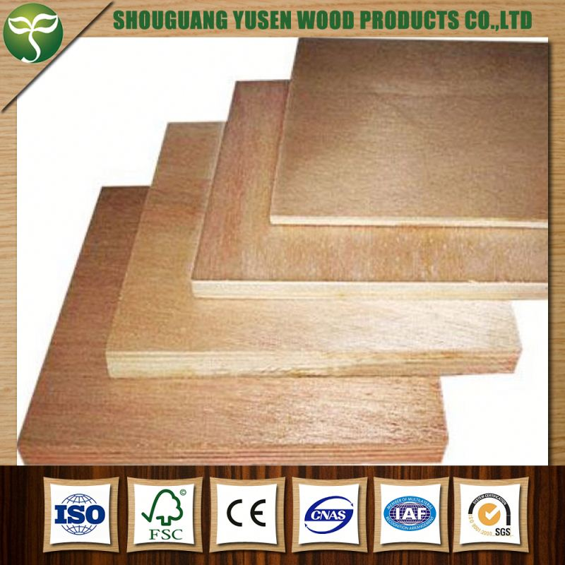 competitive price okoume face poplar plywood for furniture