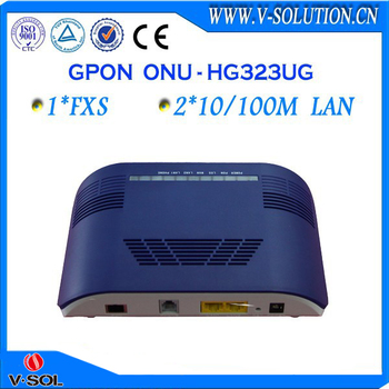 Brand new 1fxs + 2fe gpon onu fttx compatible with ZTE Huawei olt