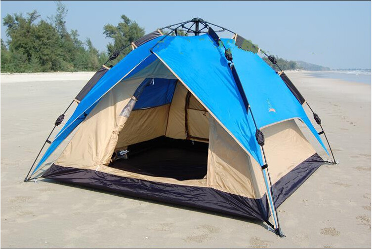 Automatic camping tent and easy set up camping umbrella tent