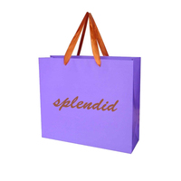 Factory Custom Shopping Paper Bag Cosmetic Package