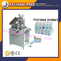 Factory directly WD-228 KC semi auto mini type facial tissue hanky packaging machine