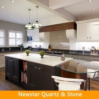 Newstar Stone Quartz Kitchen Worktops Cut to Size Seams