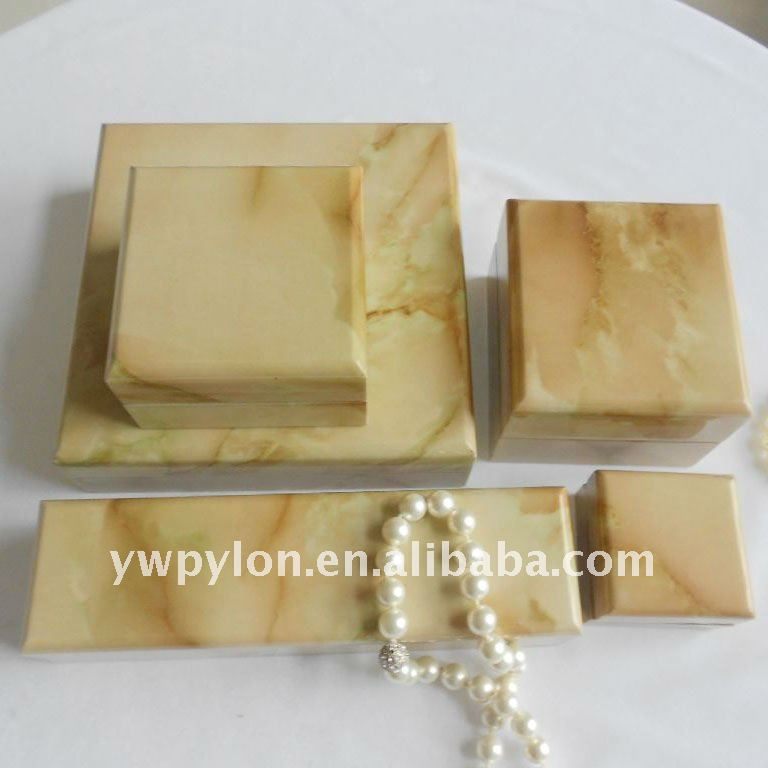 Sample wooden jewelry box