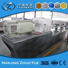 PET reclamation plastic recycling pelletizing extrusion machine