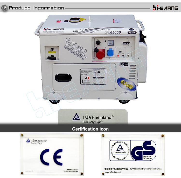5kw Home Use Portable Gasoline Generator Buy Gasoline