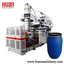 Customized shape 160l hdpe plastic blow molding machine for bottles