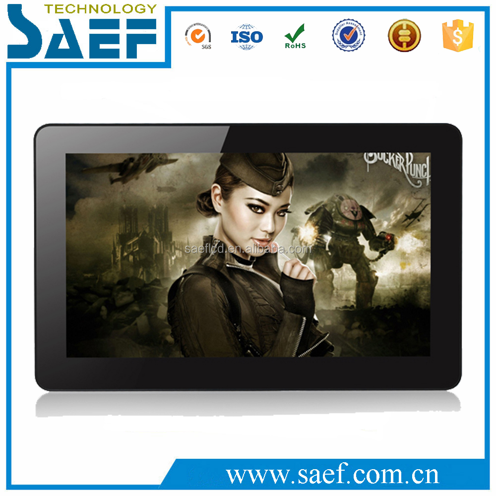 "15.6"" Inch Acrylic Electronic LCD Digital Advertising Photo Frame support MP3/Video playback"