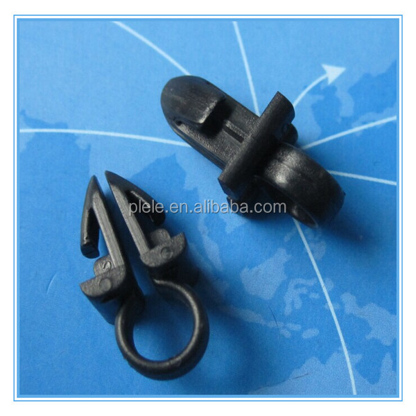 Pengli Cars plastic fasteners tube cable routing clip for holding multiple