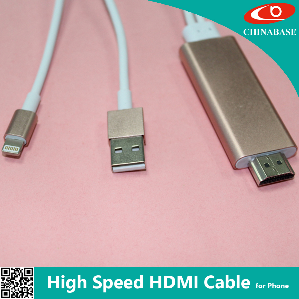 Newly developed china factory wholesale hdmi mhl adapter mhl cable
