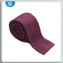 Wool knitting tie and mix printing wool necktie interlining for men