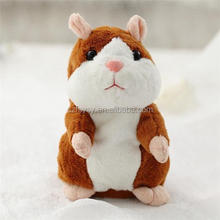 2017 Excellent Quality Educational Talking Stuffed Talking Hamster Mimicry Pet Toy Hamster