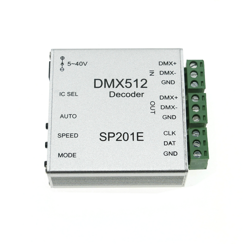 DMX512 Decoder Operation Instructions LED Controller Support Almost Every Kind of LED-DRIVER-IC RGB Controller