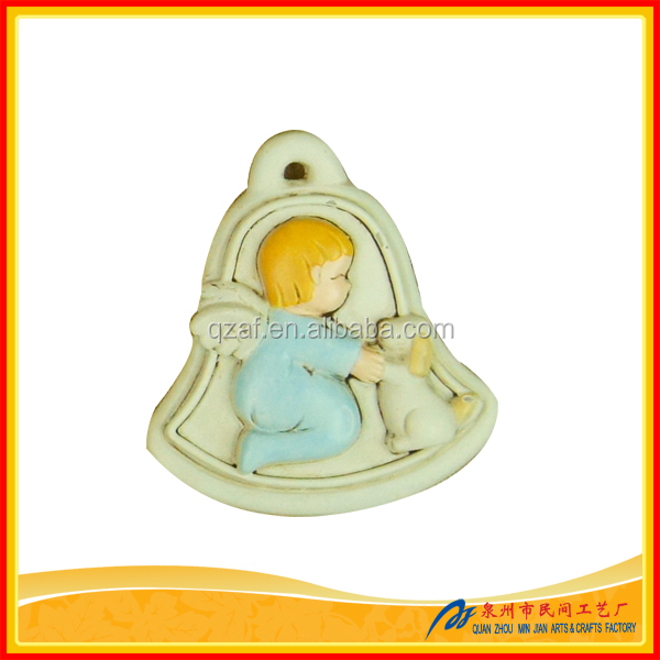 Small new souvenirs resin angel statue