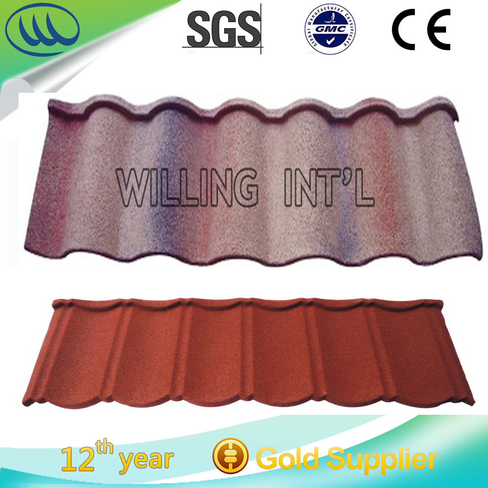 Good Price Hot Sale Colorful Stone Coated Metal Roofing Tile in stock
