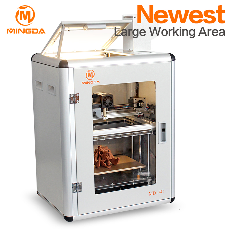 Hot sale digital a 3d printer for the home, latest quotation MINGDA Manufacture 3d printer application