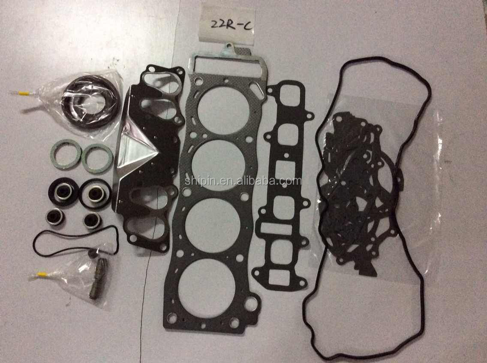04111-35342 OEM car engine 22R gasket set for toyota