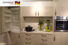 German Pool Custom Design Grand Damp-proof MFC Refrigerator combined Modular Kitchen Cupboard