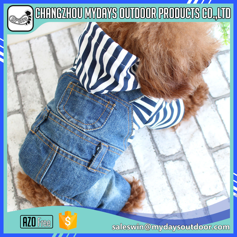 Low price cowboy dog clothes with four legs for medium and large dog
