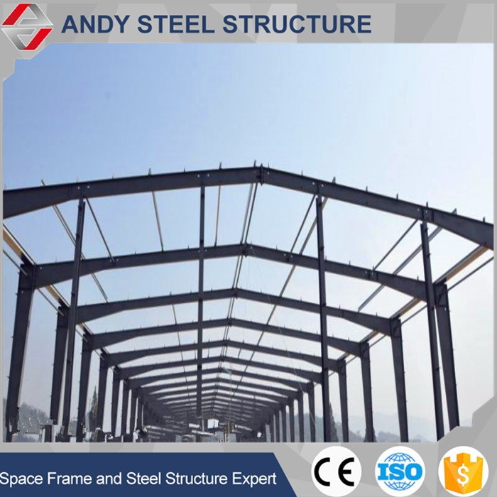 Prefabricated high quality steel structure green house