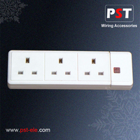 Cheap Multi Plugs Electrical Plugs & Sockets UK/BS Socket