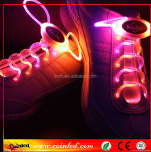 Cool LED Light Up Shoe Laces Shoestring Flash Dot Flashing Glow Stick LED shoelaces