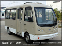 Small electric bus tourist bus passenger bus with 14-seats