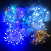 Wholesale - 20M/30M/50M/100M 600 LED String Fairy Lights Xmas Decor lights Red/Blue/Green Colorful Christmas Twinkle Lights