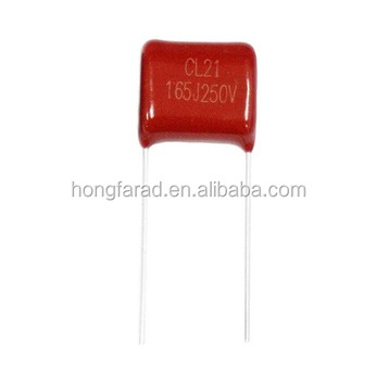 CL21 capacitor Metallized polyester film capacitor(Dipped) for LED lighting MEF