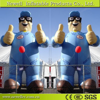 Cheapest product inflatable sasquatch cartoon in good quality