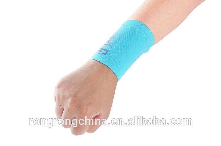 Sports Orthopedic Wrist Wraps Colorful Medical Wrist Supports