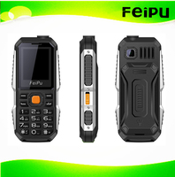 power bank 2000 mah strong flashlight small rugged mobile phone dual sim dual standby