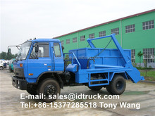 8m3 garbage skip loader truck, Roll-off Refuse Collector Truck for sale