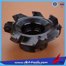 MF45-125.7-SE13-B40 ---- CNC Indexable 45 Degree Face Milling Cutter